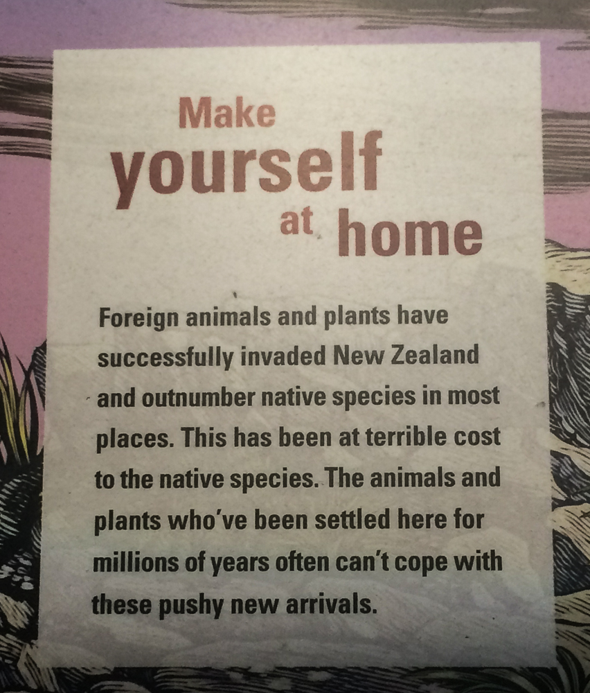 te papa introduced species